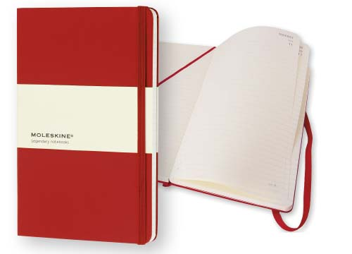 AGENDA GIORNALIERA LARGE HARD COVER